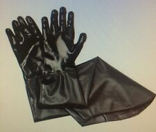 Wells Lamont PVC 31 inch Trapper's Gloves Black Full Arm Length
