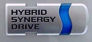 Image Is Loading Toyota Prius 034 Hybrid Synergy Drive Emblem