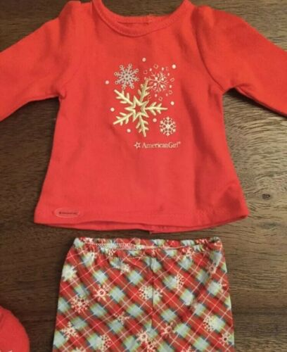 Brand new American Girl doll truly me Holiday dreams pajamas for doll