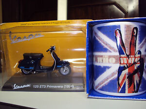 THE-WHO-PEACE-FINGERS-MUG-amp-VESPA-125-ET3-PRIMAVERA-SCOOTER-GIFT-APPEAL-TO-MODS