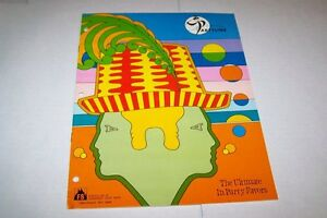 Vintage Catalog #337 - 1974 PARTYLINE - PARTY FAVORS -