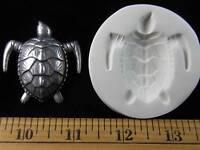 Loggerhead Sea Turtle Polymer Clay Mold (md1187)