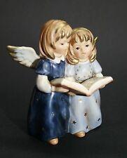 Goebel Engel, Engelpaar singend mit Buch, Blau, Sammlerstück 13 cm, I Wahl