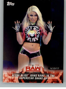 2018-Topps-Road-to-WrestleMania-Wrestling-Trading-Cards-Pick-From-List