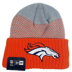 15013da4347 NFL DENVER BRONCOS New Era Cozy Cover Cuffed Knit Hat 190291821597 ...