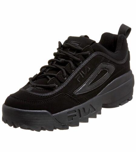 FILA DISRUPTOR II BLACK//BLACK FW04495-001 MEN SHOES SNEAKER S-C