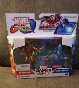 Marvel-Gamerverse-vs-Capcom-Infinite-Iron-Man-amp-Mega-Man-XTarget-Only-Hasbro