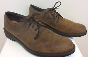Details zu Men's Timberland Shoes Brown Leather Waterproof Anti Fatigue Size 10 M