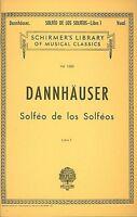 Solfeo De Los Solfeos Book I Voice Technique Vocal Method 050257710