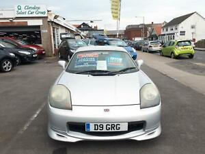2002 Toyota MR2 1.8 VVTi Roadster From £3,695 + Retail Package CONVERTIBLE Petro