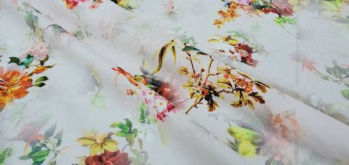 Viscose Fabric 100/% per metre dress fabric /'Soldado C/'