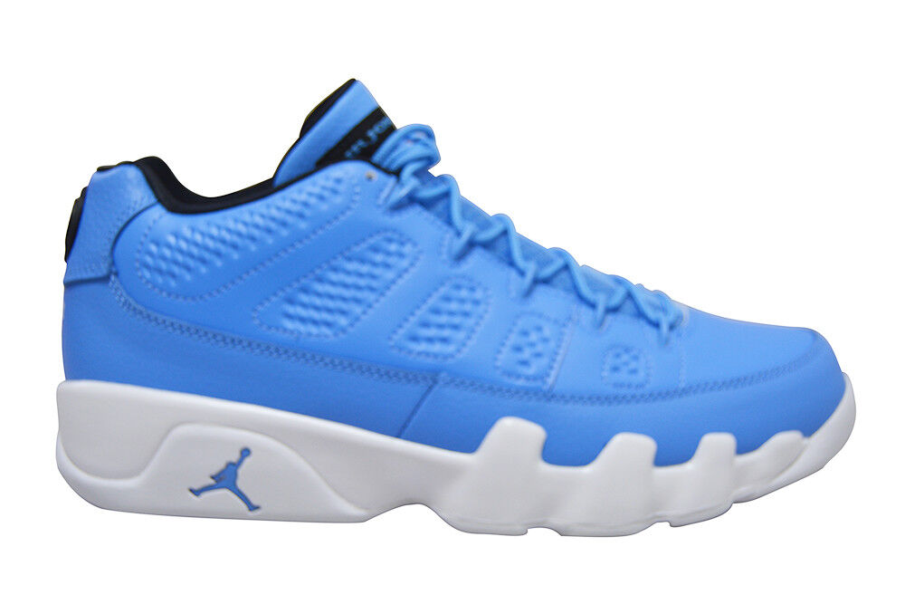 Mens Nike Air Jordan 9 Retro Low - 832822401 - bluee White Trainers