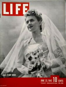 Life-Magazine-June-22-1942-WW2-USS-Lexington-Burma-Marbles-Amenia-NY-Barber