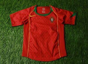 PORTUGAL NATIONAL TEAM 2004/2006 FOOTBALL SHIRT JERSEY HOME NIKE ORIGINAL YOUNG | eBay