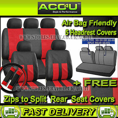 Harness Pads Black /& Pink Airbag OK Steering Wheel Cover Car Seat Cover Set