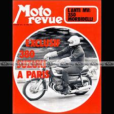MOTO REVUE N°2062-b ★ SUZUKI GT 380 ★ MORBIDELLI 350 GP ★ MAICO 386 CROSS 1972
