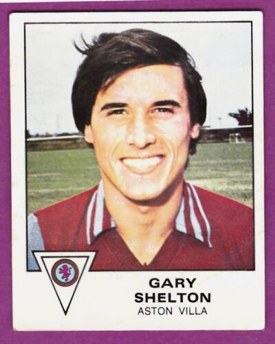 PANINI FOOTBALL 80 #029-ASTON VILLA-GARY SHELTON