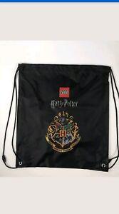 Details About Lego Harry Potter Drawstring Bag Black Draco Dormiens Nunquam Titillandus Extras