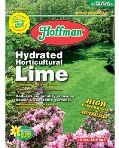 image is loading 1 10 lb bag of hoffman hydrated horticultural - Garden Lime
