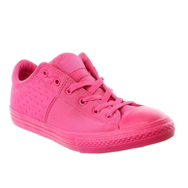 b7e503bb843ef Converse Junior Girls Chuck Taylor All Star Madison Ox Sneaker Shoe ...