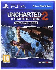 UNCHARTED-2-EL-REINO-DE-LOS-LADRONES-PS4-EN-CASTELLANO-ESPANOL-NUEVO-PRECINTADO