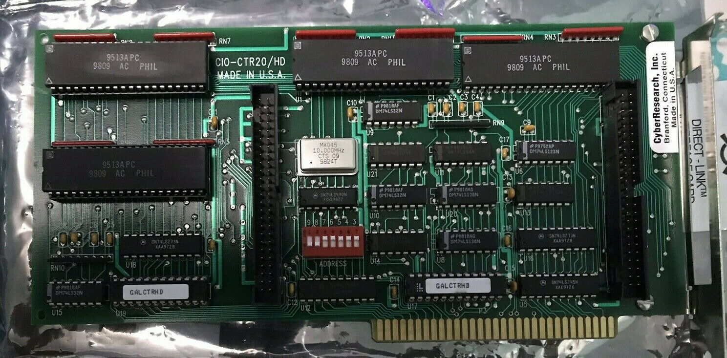 ComputerBoards Inc. CIO-CTR20/HD 20-Channel Counter-Timer I/O Board ISA PC