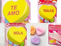Sweethearts Valentine's Day Candy Set Of 3 Boxes In Spanish 3 Oz Of Candy