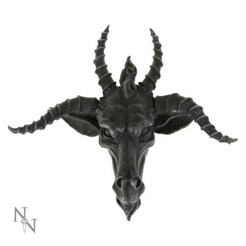 Nemesis Now The Goat Of Mendes Baphomet Gothic Occult Decorative Wall Art Black