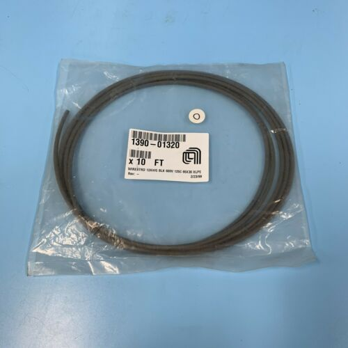 Details about  /318-0302//// AMAT APPLIED 1390-01320 WIRE STRD 12AWG BLK NEW