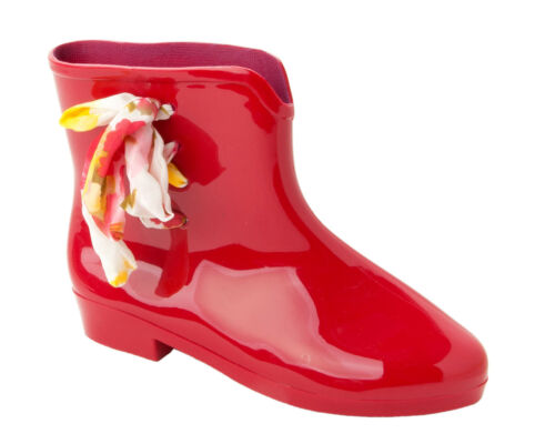 WOMENS CHELSEA WINTER WELLINGTON RAIN WELLIES PIXIE ANKLE BOOTS LADIES SIZE 3-8