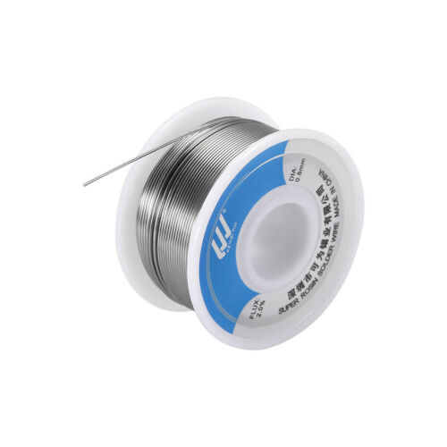 Solder Wire 0.8mm 100g Sn63/% Pb37/% with Rosin Core for Electrical Soldering