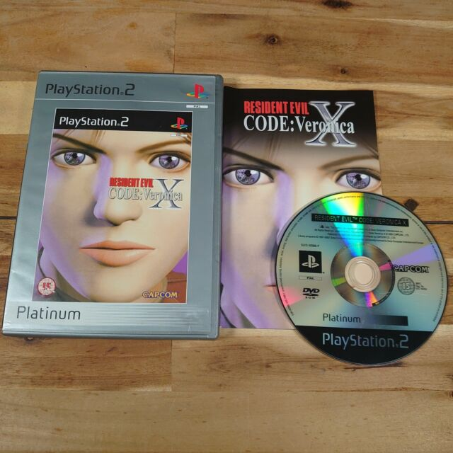 Resident Evil Code: Veronica X-Platinum Edition (Sony PlayStation 2, 2002) -...