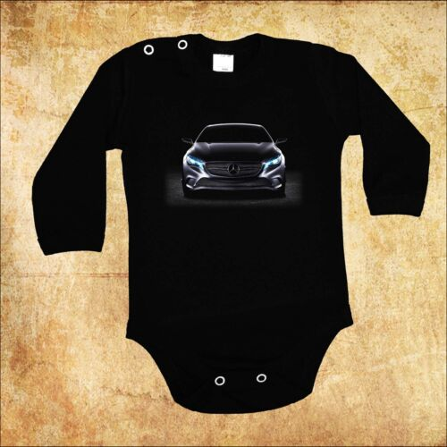 BABY BLACK  BODY MERCEDES BENZ 4 CAR BODYSUIT KURZARM//LANGARM