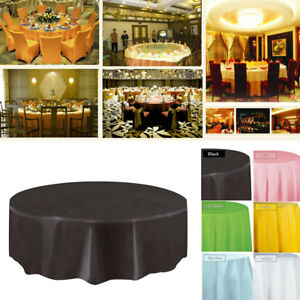 FJ-DISPOSABLE-ROUND-SQUARE-TABLECLOTH-TABLE-COVER-DINING-WEDDING-PARTY-BANQUET