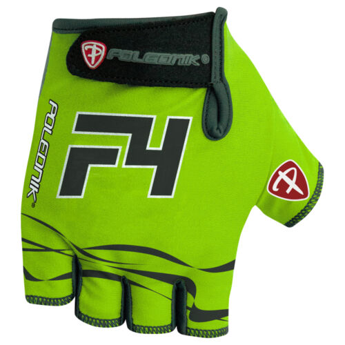 Cycling Bike Bicycle Padded Half Finger Fingerless Gloves Mens Green Blue