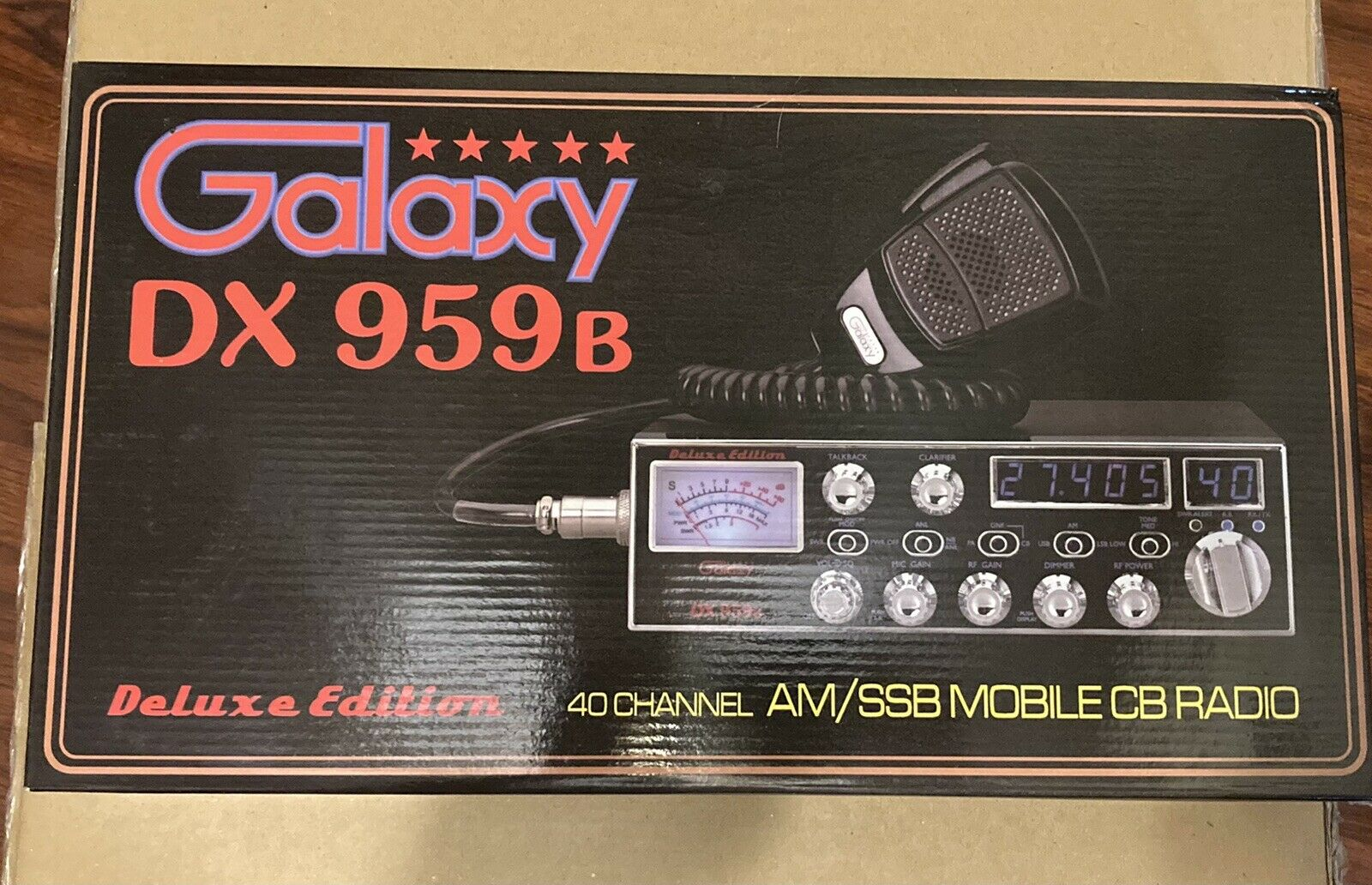 Galaxy DX959B 40 Channel Mobile CB Radio. Available Now for 230.00