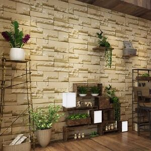 3d tapete stein vliestapete steintapete optik wandbilder. Black Bedroom Furniture Sets. Home Design Ideas