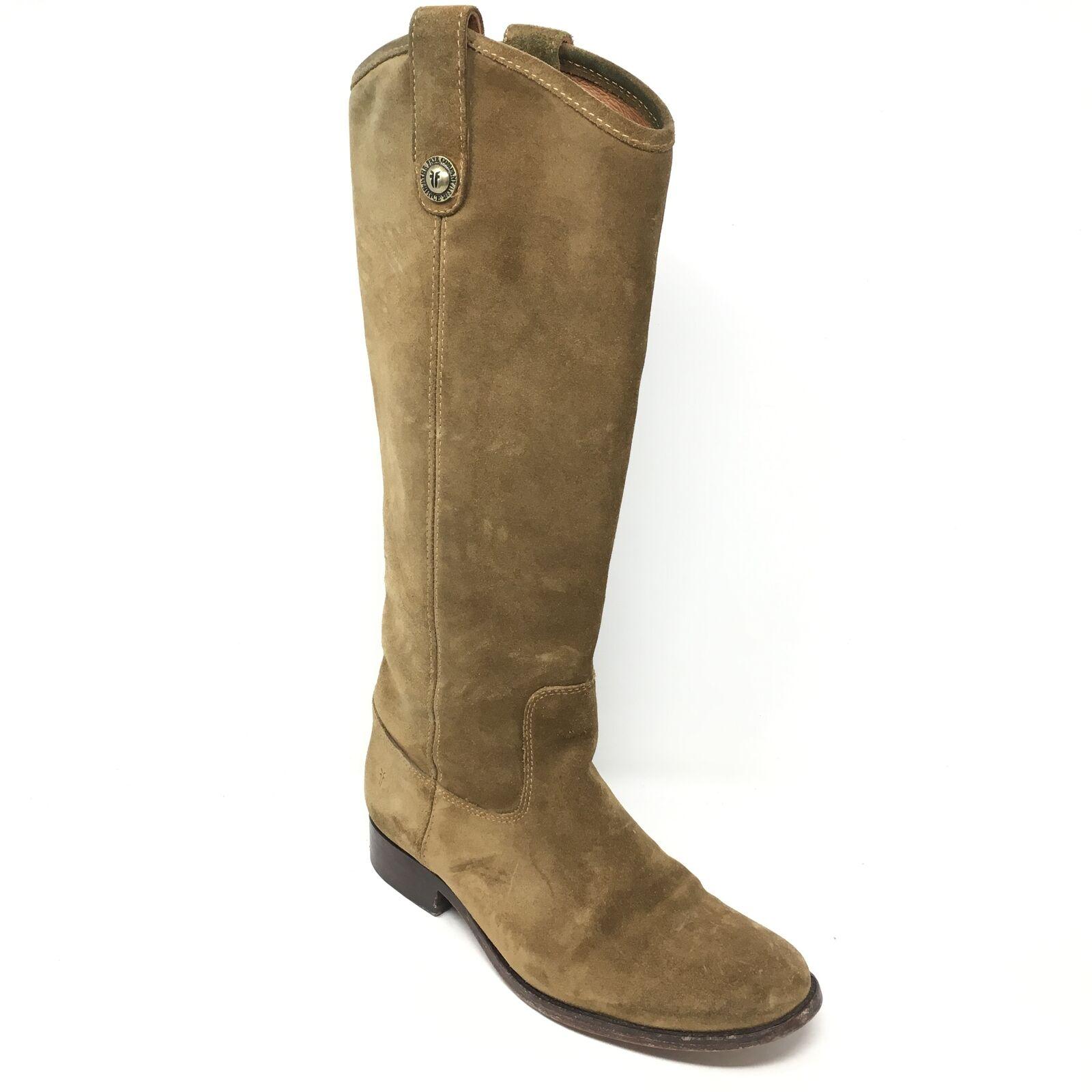 conveniente Donna  Frye Melissa Knee Knee Knee High stivali scarpe Dimensione 7B Marrone Pull On Western X14  vendita online