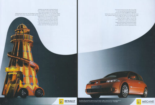 Renault Megane Sport 2005 Magazine Advert #2715