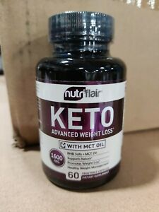 Keto Diet Pills 1600mg with MCT Oil Powder- Advanced Weight Loss Capsules