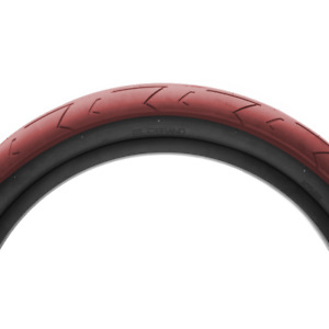 """TWO DUO Brand HSL (High Street Low) 20"""" tires Red"""