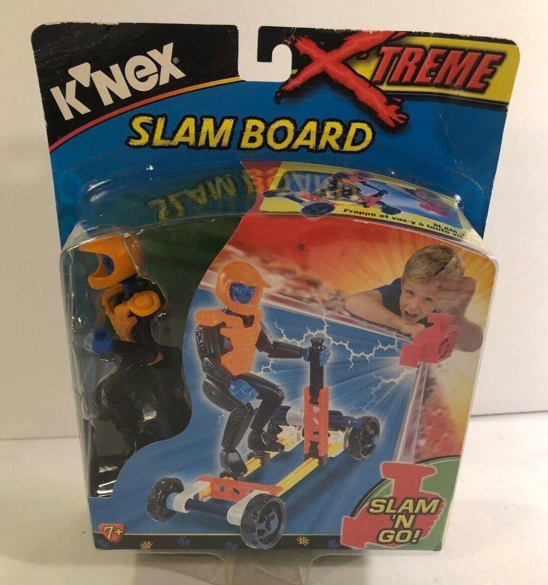 K'Nex Xtreme Slam Board Board Board 10519 31 Pieces Brand New On Card NOS 2001 Rare 6cc446