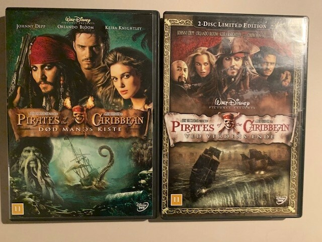 DVD, action, Pirates of the Caribbean, DVD,…