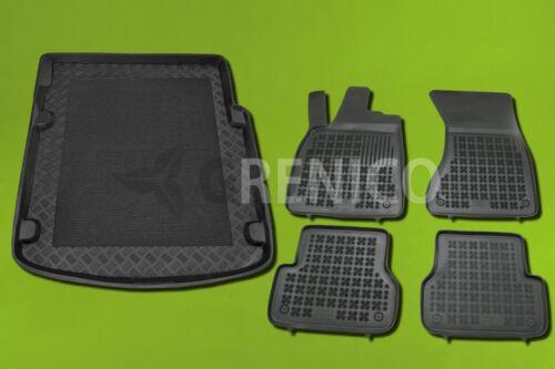 Gummi-Fußmatten+Kofferraumwanne AUDI A7 Sportback 2010-heute