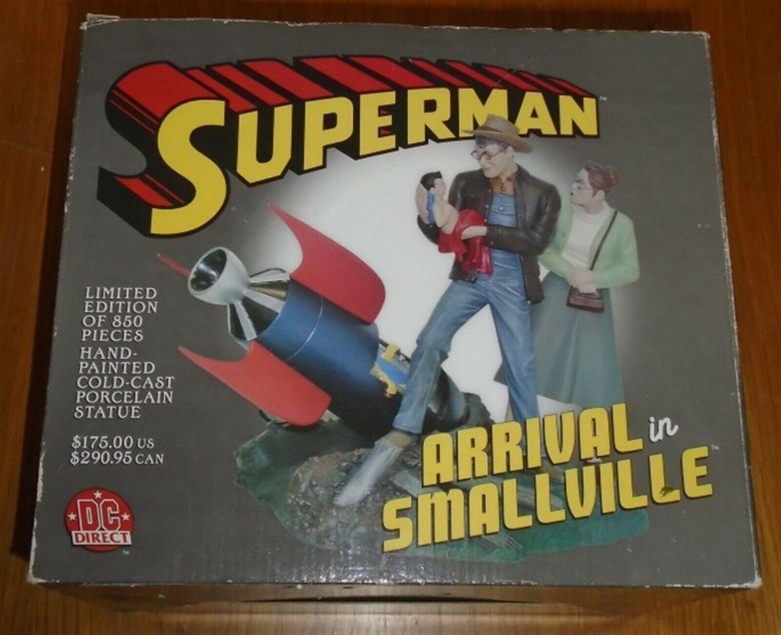 Superman Arrival in Smallville DC Direct Porcelain Statue Ltd 850
