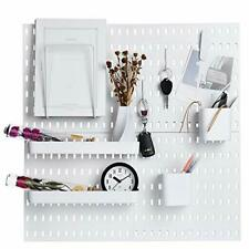 Keepo Pegboard Combination Kit With 4 Pegboards And Assorted Sizes Colors