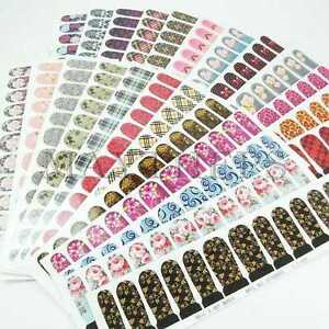 25-Diff-Nail-Art-Water-Decals-Slide-Transfer-Film-Sticker-For-Full-Nail