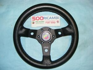 FIAT-500-F-L-R-VOLANTE-SPORTIVO-A-3-RAZZE-LUISI-NERO-CLACSON-ABARTH-NIBBIO-32
