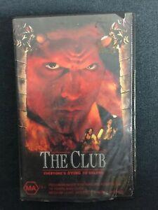 1993-The-Club-VHS-Kim-Coates-Horror-Ex-Rental-Aust-Release