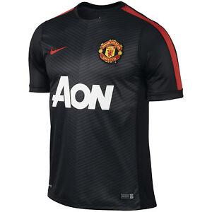 Nike Manchester United AON 2014 Pre Match Dri-Fit Soccer Jersey ... 183fbb6f6367b
